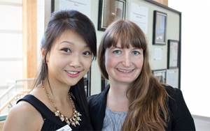 Linh Huynh and Marie Maratos